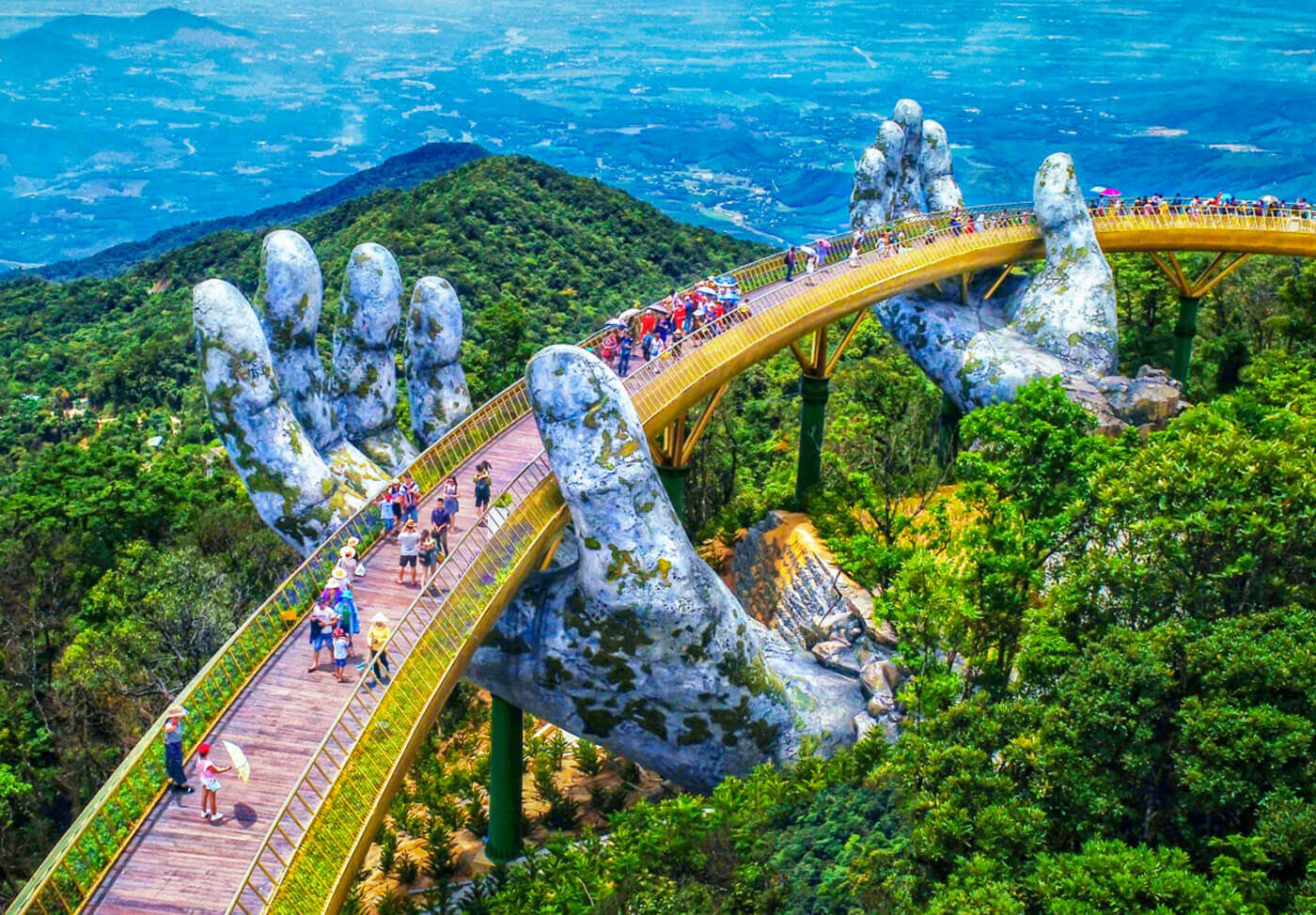 Golden Bridge, Vietnam